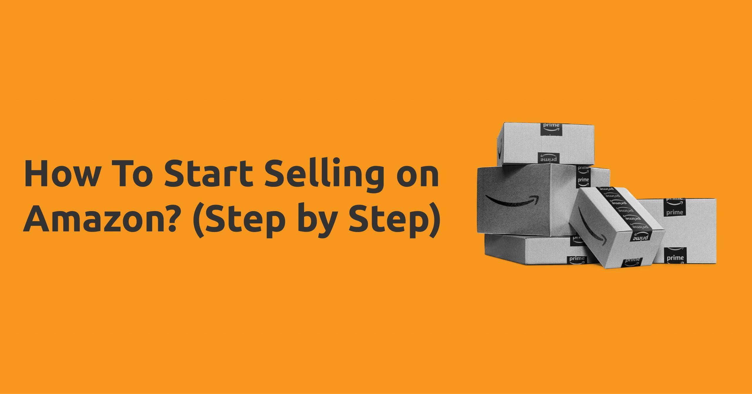 start sell on amazon-sellersupport